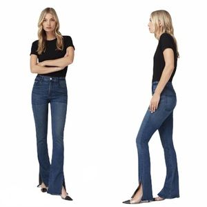 NWT 3x1 High Rise Split Seam Bell Jeans In Connor